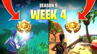 Fortnite Season 5 Week 4 Secret Battle Star Locations
