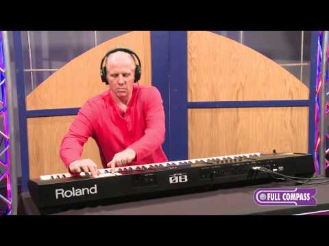Roland FA-08 88 Key Workstation Keyboard Overview | Full Compass