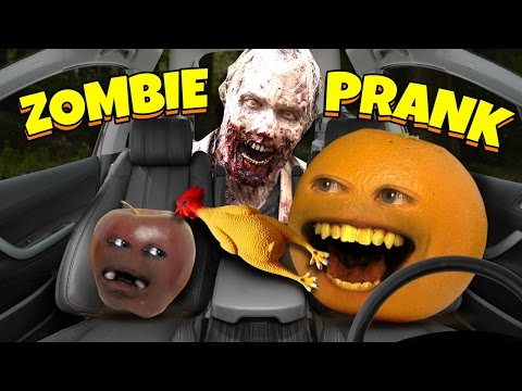 Fruits Convince Little Apple of Zombie Apocalypse (Brothers Convince Sister SPOOF!)