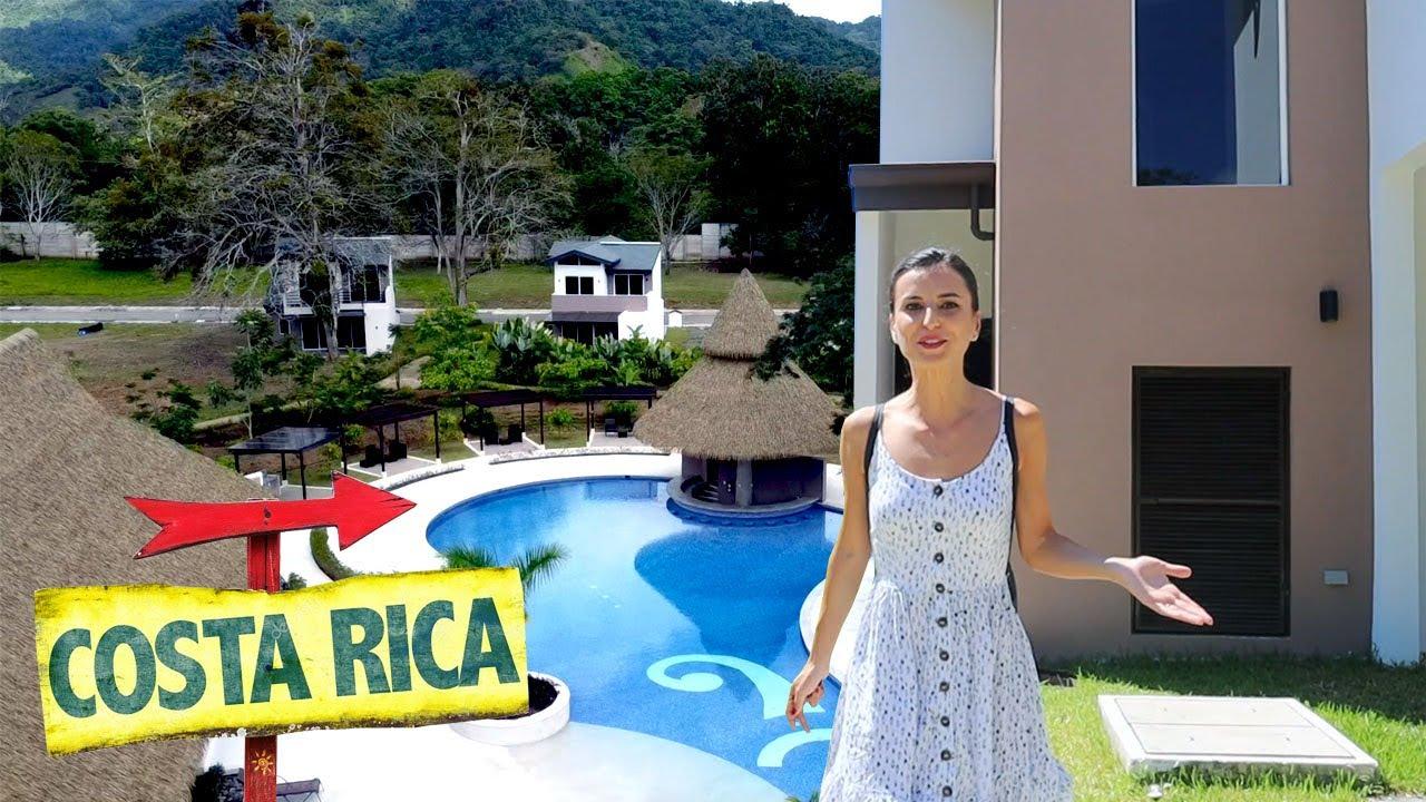 Ne-am cazat in VILA unei familii de ROMANI din COSTA RICA: Paradis tropical ?