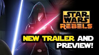 Star Wars Rebels Season 2 New Trailer: Always Two There Are Preview & Episode 2 Review