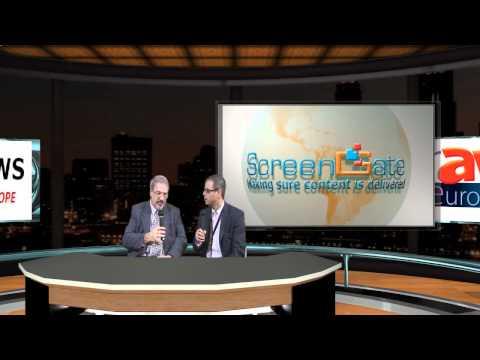 WebTV at ISE 2011: Minicom Digital Signage