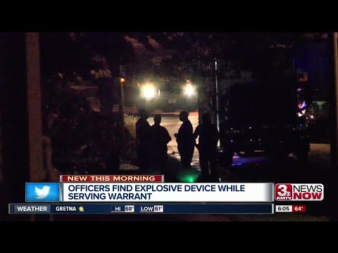 Omaha Police find explosive device