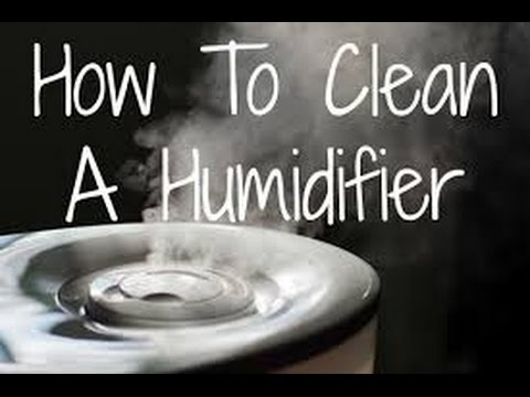 How to clean your humidifier | How to clean vicks humidifier