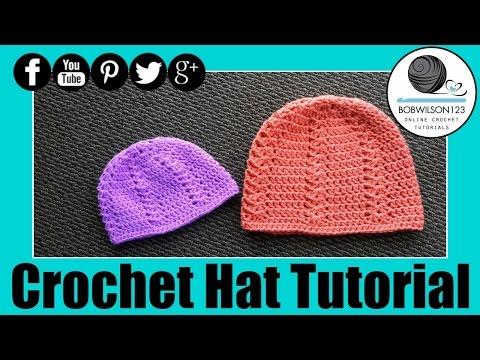 Crochet Hat Tutorial