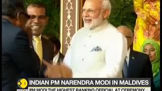 PM Modi attends Maldives president's swearing-in ceremony