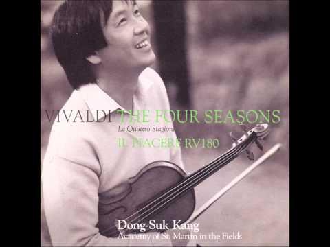 Dvorak's Slavic Dance no 2 in E minor   Sicilienne   Dong Suk Kang Violin