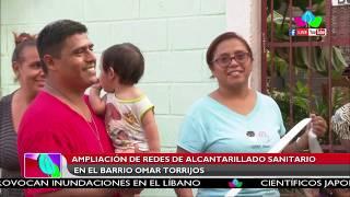 Amplían redes de alcantarillados sanitario en el barrio Omar Torrijos de Managua