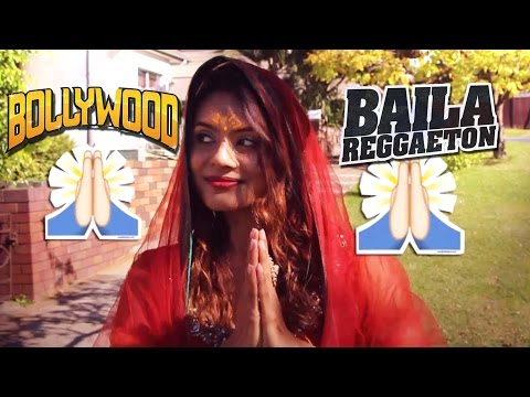 #Vournal 5 Indian girl does Reggaeton , Bollywood Style !