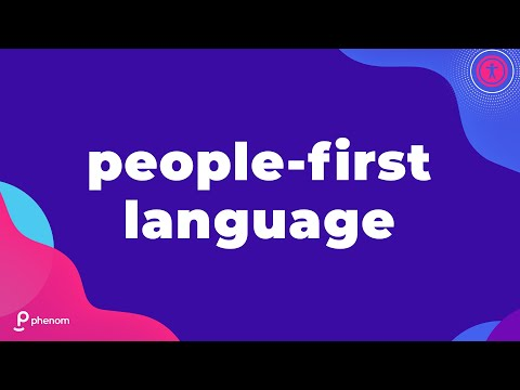 Using Person-First Language When Describing Individuals With Disabilities