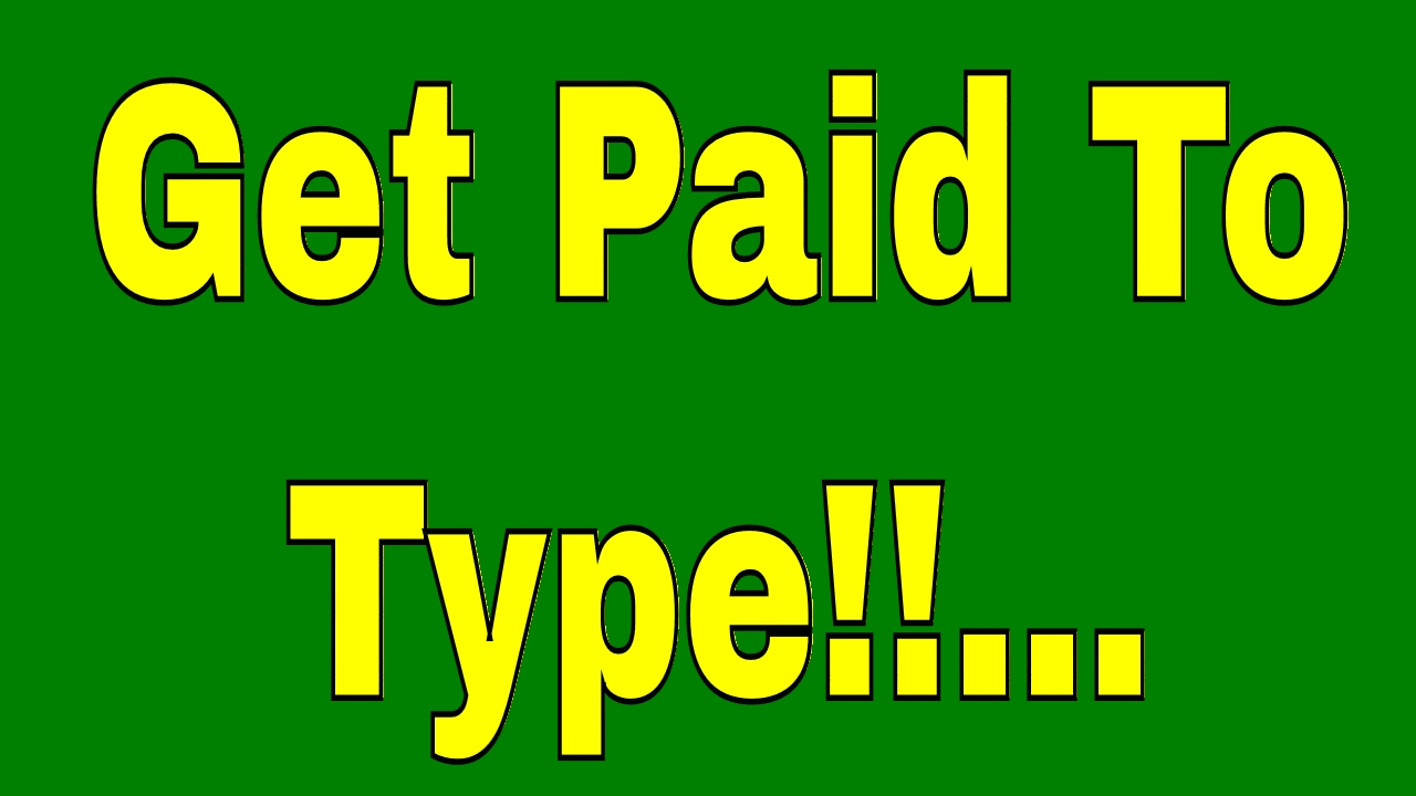 new work from home job opportunity get paid to type new work from home job opportunity get paid to type