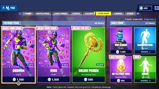 NEW FORTNITE ITEM SHOP UPDATE OUT NOW! (FORTNITE BATTLE ROYALE)