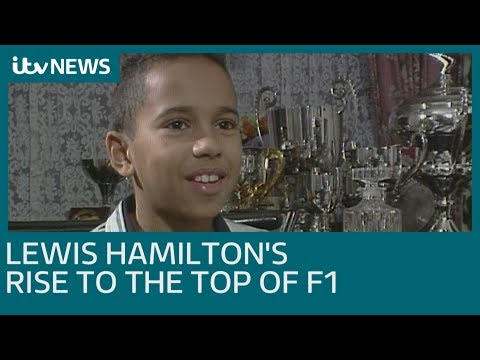 Lewis Hamilton's journey to becoming five-time world champion | ITV News