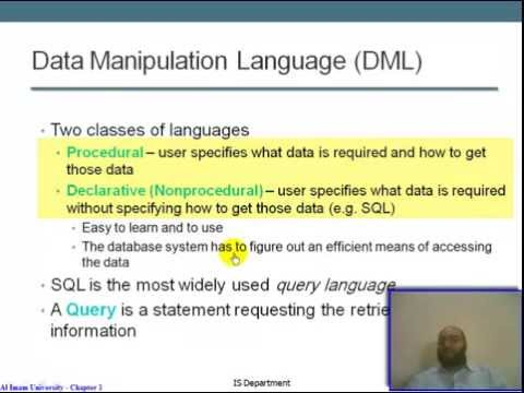 Database 2 : Chapter 1 - Introduction to Database Management System