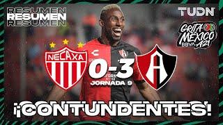 Resumen y goles   Necaxa 0-3 Atlas   Grita México BBVA P2021 - J9   TUDN