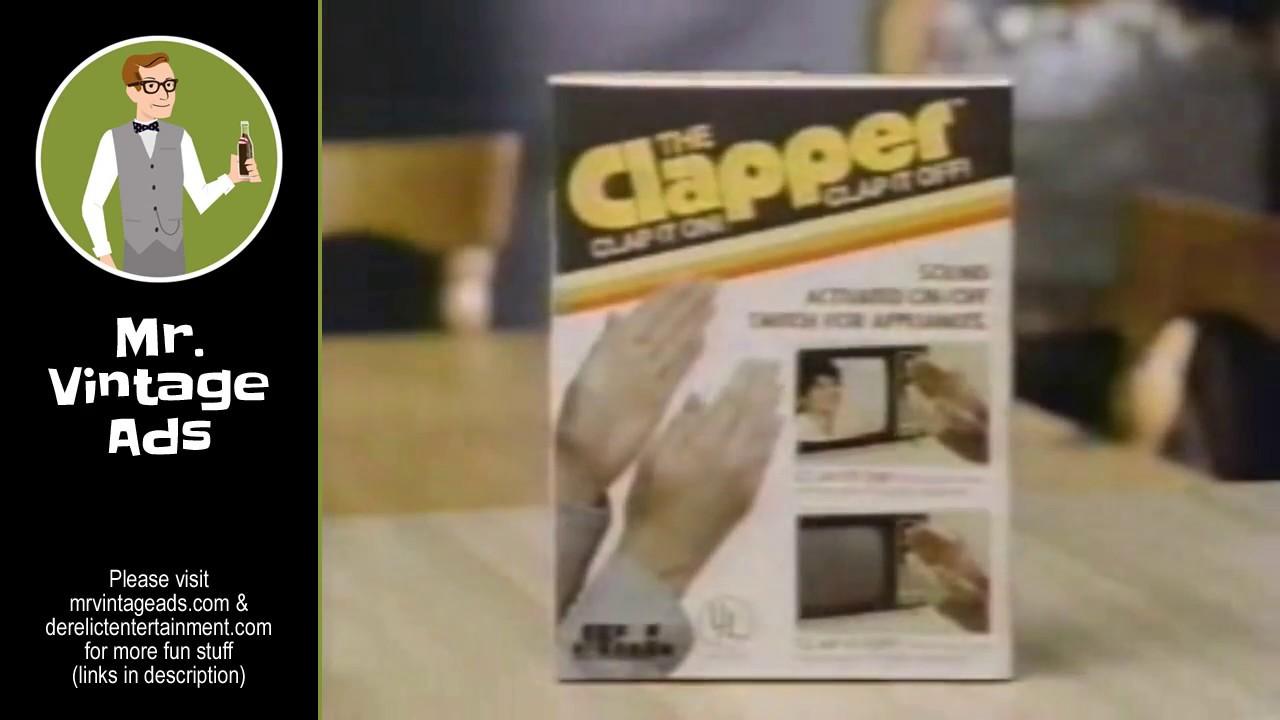 The Clapper - Clap On, Clap Off (1984). Mr. Vintage Ads