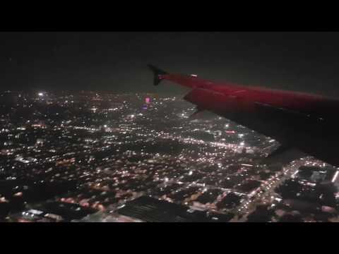 Aterrizando en la Ciudad de Mexico Volaris Y4 743