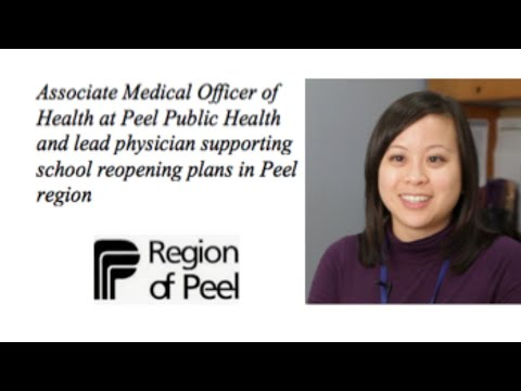 Back To School Student Health And Well-Being With Peel Public Health And Dr. Monica Hau