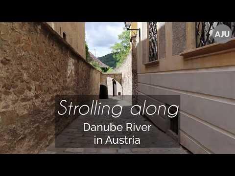 [AJU] Strolling along Danube river in Austria