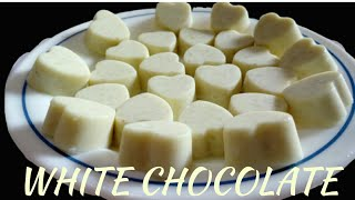 White Chocolate // Milk chocolate// quick and easy white chocolate recipe//