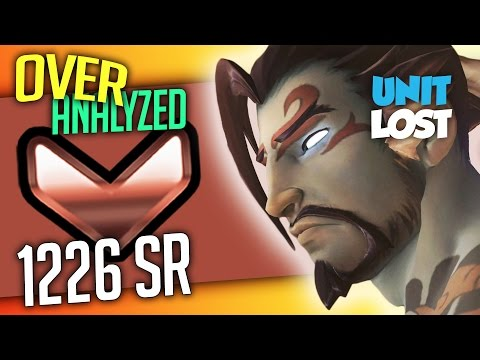 Overwatch Coaching - Hanzo - BRONZE 1226 SR - [OverAnalyzed]