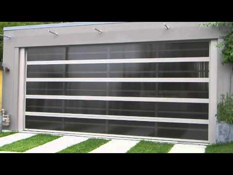 Selections Designer Garage Doors - YouTube