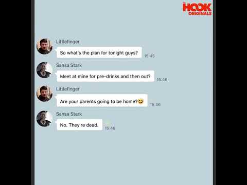 If game of thrones had a chatroom!!