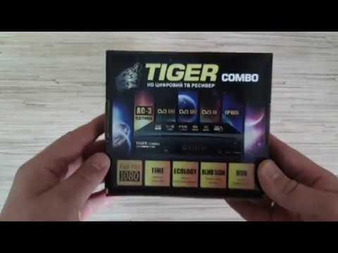 Tiger Combo комбинированный ресивер DVB-S2/T2/C