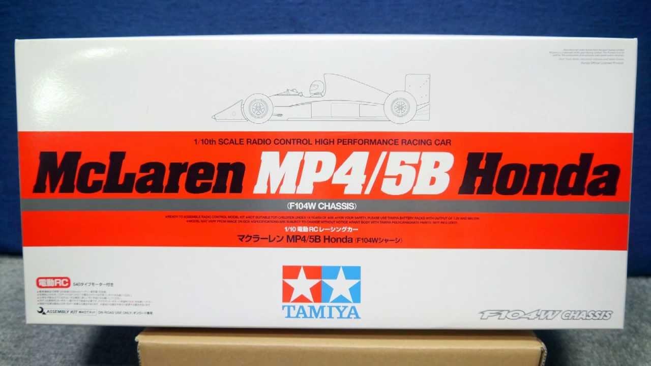 タミヤ F104W マクラーレンMP4/5B ITEM84192 TAMIYA F104W McLaren MP4/5B Honda ...