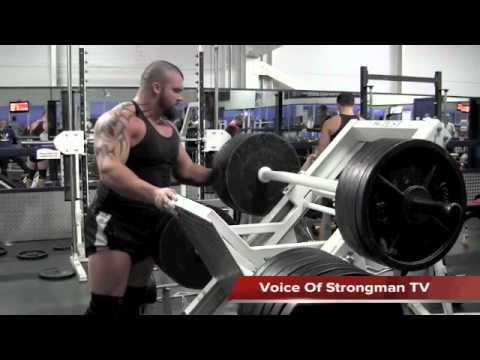 VOS TV - Eddie Hall - Training