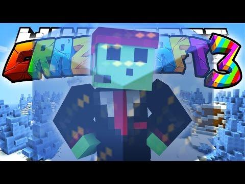 Minecraft Crazy Craft 3.0: I FROZE PETE? (Superheros Mod)! #103