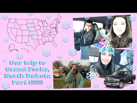 Our trip to Grand Forks, North Dakota Part 1!!!!!!