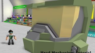"How to: ""Build Your Own Mech"" Roblox, (BYM) Moving Head Mechanism"