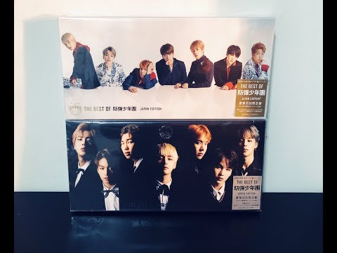 UNBOXING ♡ THE BEST OF BTS (Korean & Japanese Edition)