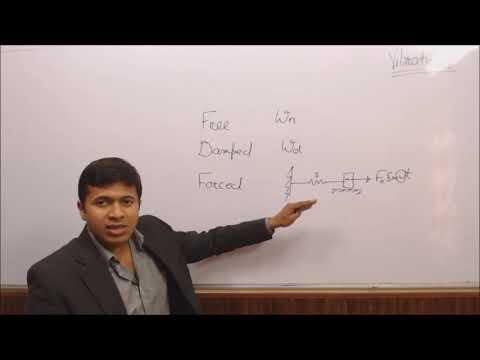 Vibrations, Part-1,  GATE Crash Course, GATE Mechanical, By Ex-IES, IITian, Manish Jindal