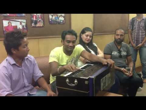 Master Saleem With His Disciple During Recording