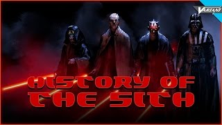 History Of The Sith!