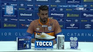 TV Avaí   Entrevista   Gledson