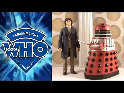 Doctor Who Action Figure Review: Eighth Doctor and Dalek Alpha from 'The Children of the Revolution'
