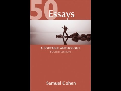 50 essays a portable anthology 3rd edition pdf 50 essays a