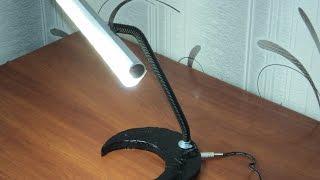 Светодиодная настольная лампа своими руками.