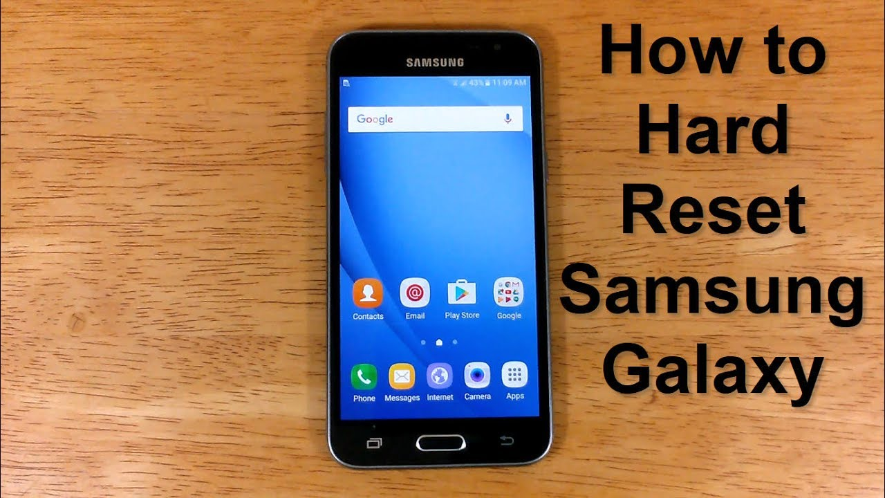 How to reset Samsung Galaxy UNLOCK & How to hard Reset Samsung Express  Prime J28 - Free & Easy