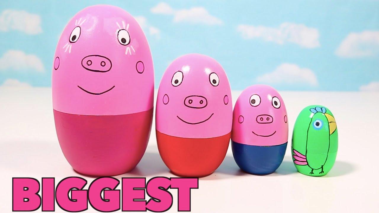 Fun Peppa Pig Toy Eggs