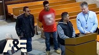 Court Cam: Man Drops Drugs Baggie in Front of Judge (Season 1) | A&E