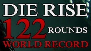 Die Rise Round 122 World Record | Black Ops 2 Zombies: Revolution