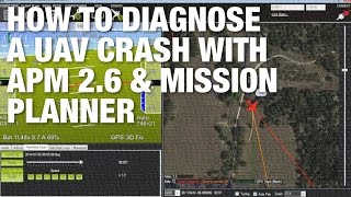 How to Diagnose a Drone/UAV Crash with APM 2.6, Mission Planner, and Telemetry Logs