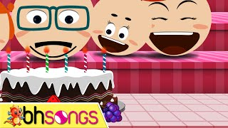 Happy Birthday Song lyrics with lead vocal | Family Style | Ultra HD 4K Music Video