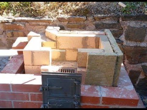 Brick BBQ stove and oven summer projekt pt. 2