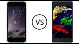 Lenovo p70 vs İphone 6