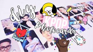 DIY K-Pop Photocards! Cheap + Easy | Hunnie Bunnie 💕